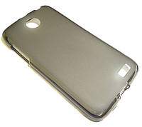 Силикон чехол бампер кейс Lenovo A516 серый