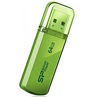Флеш накопитель SILICON POWER 64GB Helios 101 Green (SP064GBUF2101V1N)