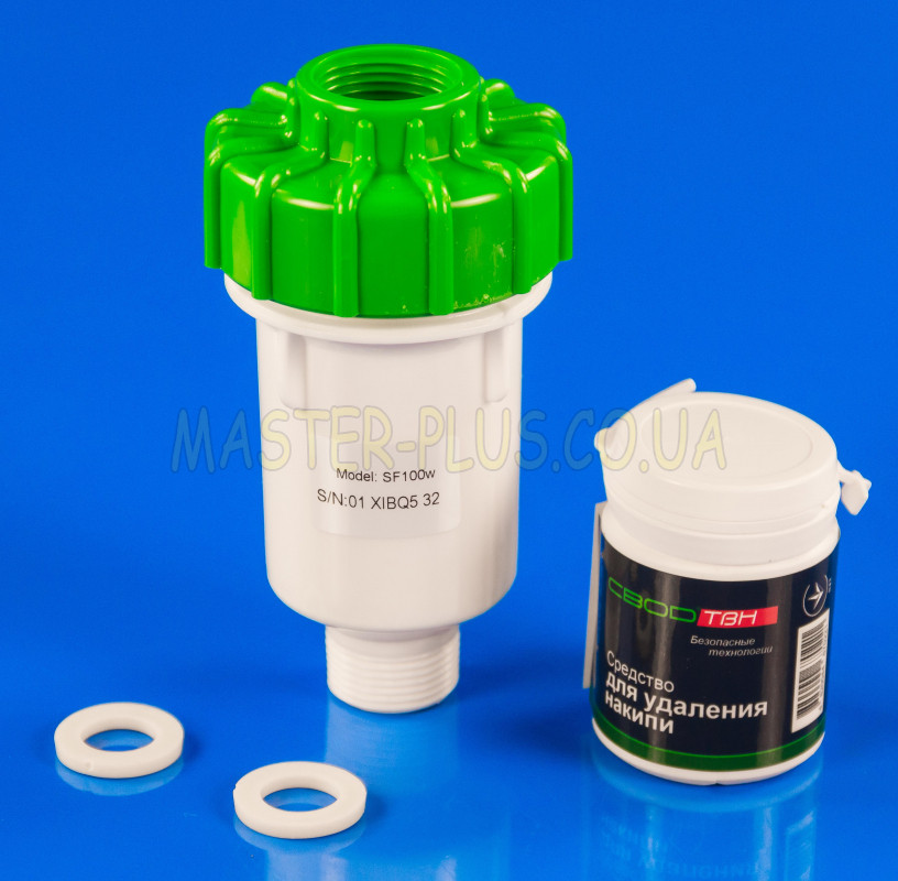 Фильтр антинакипной СВОД-АС SF100W для стиральных и посудомоечных машин