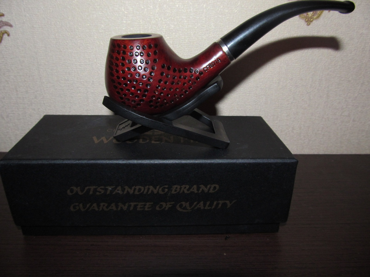 Трубка курительная Wooden Pipe KT71