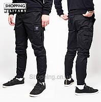 Штаны карго мужские Черные джоггеры Jogger Cargo Symbiote Black 475d06b66824b