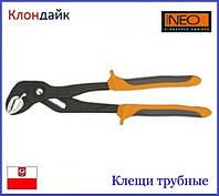 Клещи трубные Neo 01-206