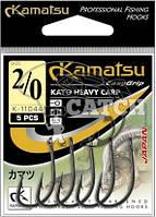 Крючки Kamatsu Kayo Heavy Carp №2 черный никель