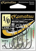 Крючки Kamatsu Warm Hook 40 №4/0 черный никель
