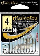 Крючки Kamatsu Strap №4 черный никель