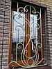 Кованая решетка на окно (квадрат 12 мм) арт кр 32