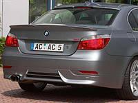 Спойлер на багажник для BMW E60 копия Schnitzer