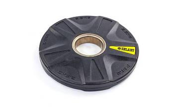 Блины (диски) полиуретановые 5 отверстий 2,5кг