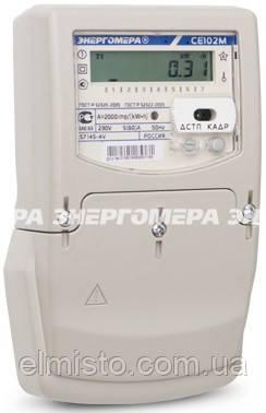 Электросчетчики Энергомера CE102M S7 145 JV однофазные многотарифные