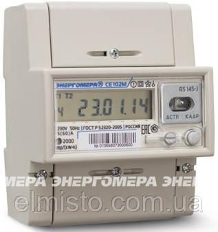 Электросчетчики Энергомера CE102M-R5 145 А  однофазные многотарифные