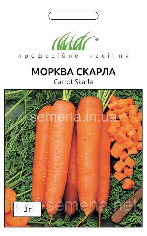 Морква Скарла 3 г.