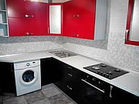 Кухня с крашеными фасадами, фото 1