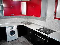 Кухня з фарбованими фасадами, фото 1