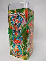 Новогодняя упаковка  картонный тубус Гороскоп