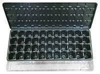 Парничок — кассета для рассады с поддоном и крышкой, 44 ячейки