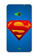 Чехол для Microsoft Lumia 535 (Superman)