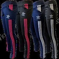 Добавление женских спортивных штанов ластик с карманами
