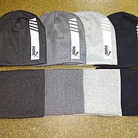Комплект зимний шапка и снуд для мальчиков размер 52-54, фото 1