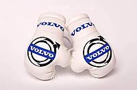Сувенирные Боксерские мини Перчатки подвеска, кулон Mackses на зеркало заднего вида с логотипом авто Volvo