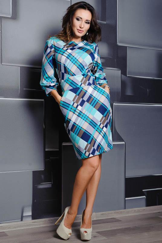 Трикотажное платье Cavalli, ментол
