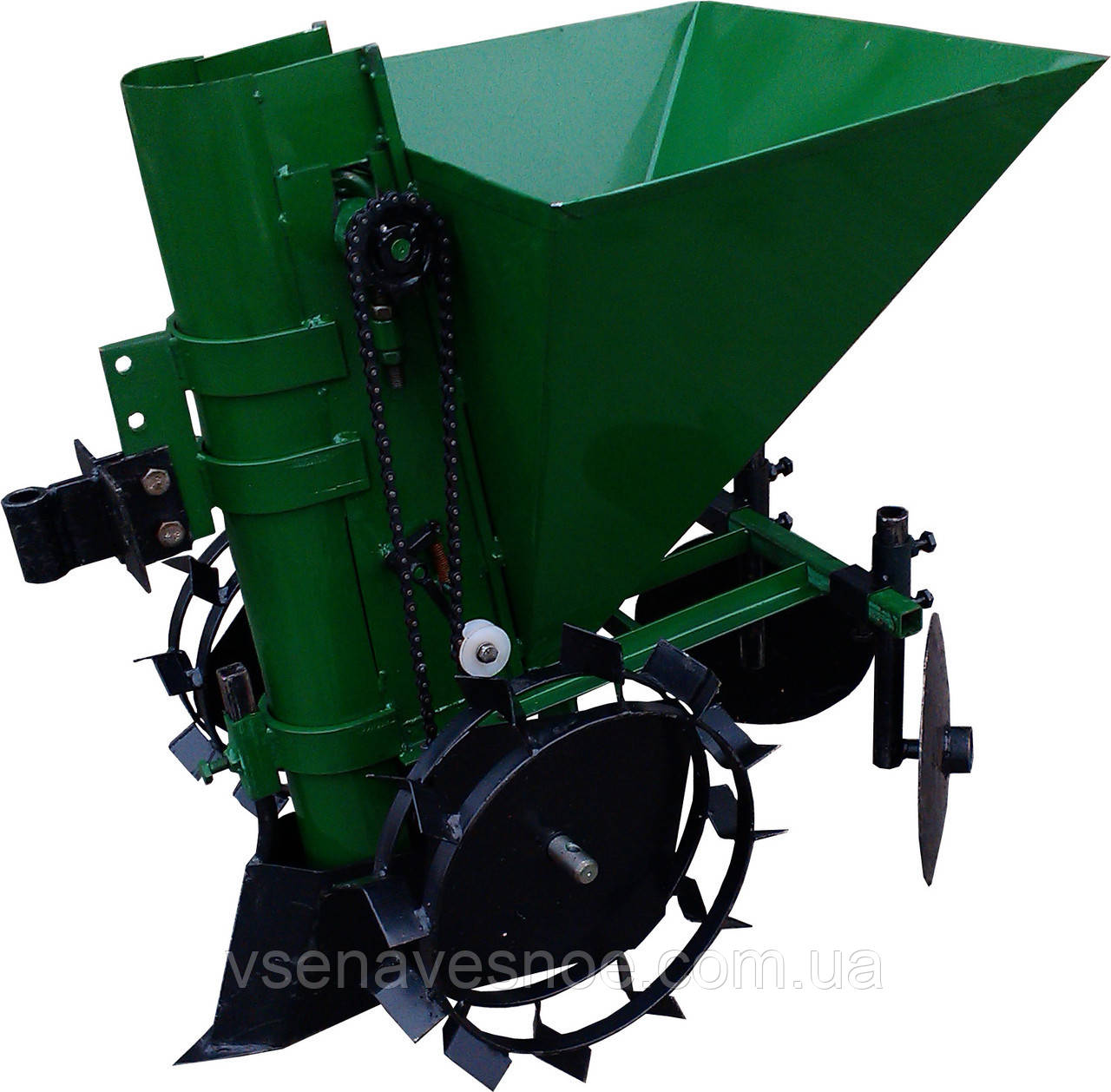 Картоплесаджалка до мотоблоку КСМ-1Ц (зелена)