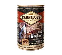 """Консервы для собак """"Carnilove Dog"""" с ягненком и диким кабаном 400г"""