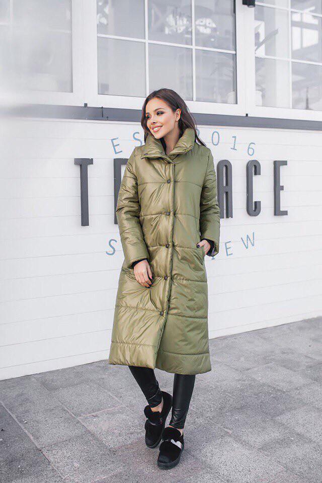Куртка женская зимняя удлиненная