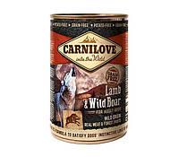 """Влажный корм Carnilove Salmon & Turkey for puppies can """"Лосось и индейка"""" 11,1/6,6 (для щенков всех пород), 400 гр"""