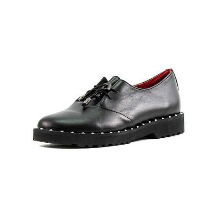 Туфли женские CRISMA CR2803-1 черная кожа  продажа, цена в Харькове ... bfedebf5291