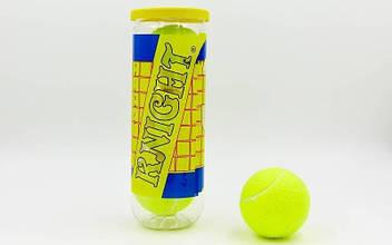 Мяч для большого тенниса TELOON (3шт) (в вакуумной упаковке) MT-4