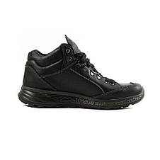Ботинки демисез мужские Grisport Gri14005 черная кожа, фото 2