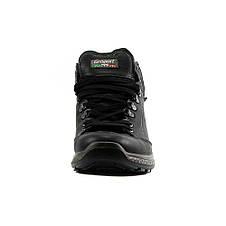 Ботинки демисез мужские Grisport Gri14005 черная кожа, фото 3