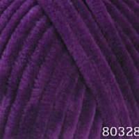 Турецкая пряжа Himalaya Dolphin Baby фиолетовый №80328