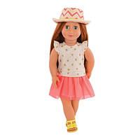 Кукла Our Generation Клементин в платье со шляпкой 46 см  (BD31138Z)