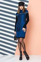 Теплое женское платье «LOOK», фото 1