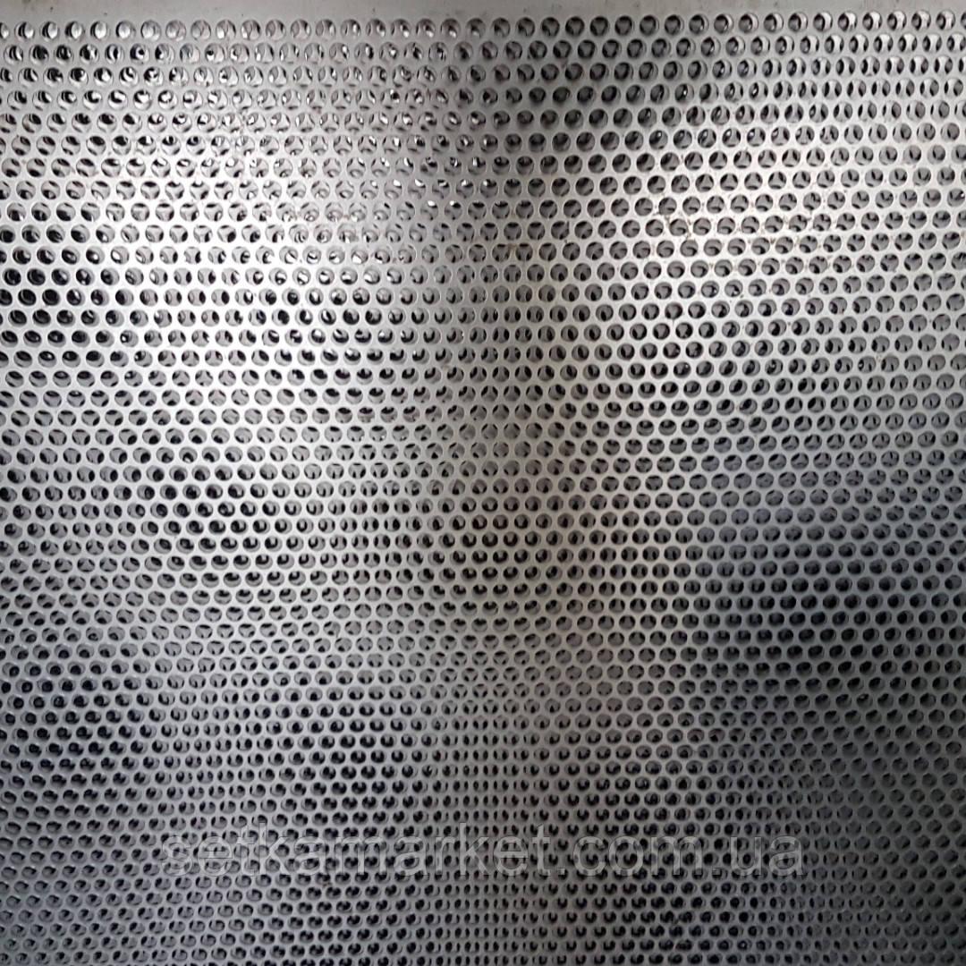 Сепаратор (710х1420), толщина 0.55, оцинкованный металл, ячейки круглые и продольные от 1 мм. до 1.8 мм.