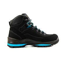 Ботинки демисез женск Grisport Gri13505 черный нубук, фото 2
