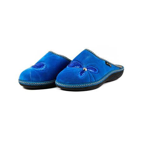 Тапочки комнатные женские Spesita 17-131 голубые, фото 2