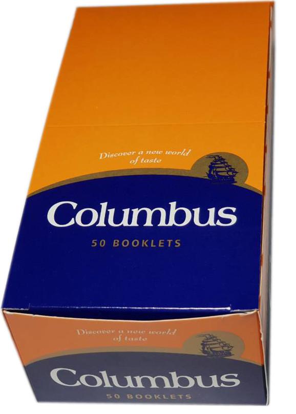 Бумага для самокруток Columbus 50 пачек по 50 листов