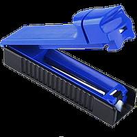 Машинка Для Набивки Сигаретных Гильз Табаком MB-01 Синяя