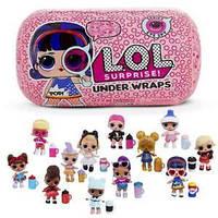 Кукла Лол Капсула L.O.L. Surprise Under Wraps Doll- Series Eye Spy,кукла лол капсула декодер
