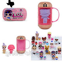 Кукла Лол Капсула L.O.L. Surprise Under Wraps Doll- Series Eye Spy,кукла лол капсула декодер, фото 6