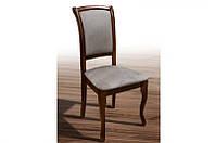 Стул обеденный для столовой из массива дерева с мягкой сидушкой -Лорд