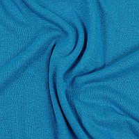 Кулирная гладь. Цвет Синий светлый. Трикотажная ткань в рулонах