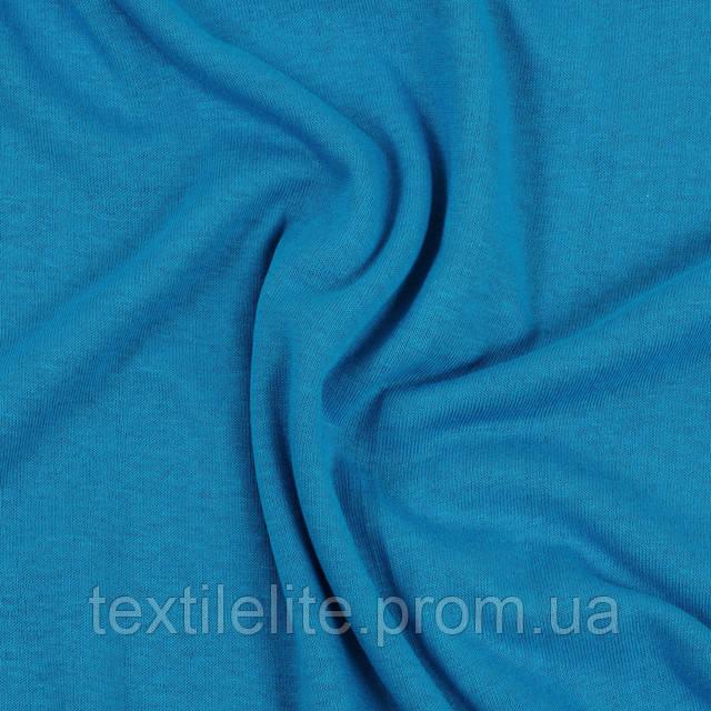 Кулирка Светло синий цвет оптом в рулонах на вес, хлопок 100