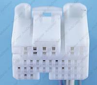 Разъем электрический 35-и контактный (27-17) б/у 12146
