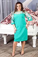 Платье нарядное арт. 132 бирюзовое