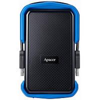 Внешний жесткий диск Apacer USB 2TB AC631 Black/Blue (AP2TBAC631U-1)