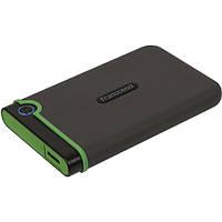 Внешний жесткий диск Transcend StoreJet USB 1TB Iron Gray Slim (TS1TSJ25M3S)