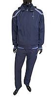 Спортивный костюм на флисе SOCCER - серый  2935
